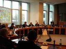 MP. Geoffrey van Orden hosting IMPACT-SE's event at EU, January 30, 2007