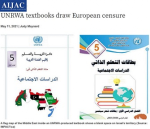 AIJAC_EU Parlia Condemns UNRWA_Screen