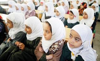 Arab News_Yemeni children-Houthi materials-Houthi