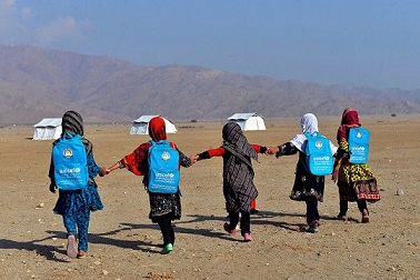 pic- Afghani Children--CSM Children Bouncing Back