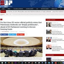 EJP_EU-Leader Condemns PA Textbooks_Screenn