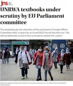 JNS_UNRWA-EU Funding