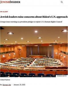 Jewish Insider_UNRWA_re Jewish Leaders