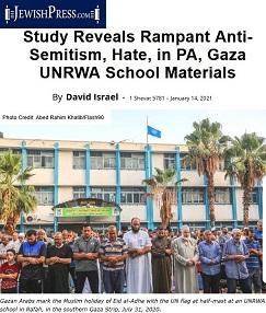Jewish Press_UNRWA-PA Hate