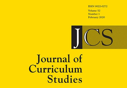 Journal of Curriculum Studies Cover