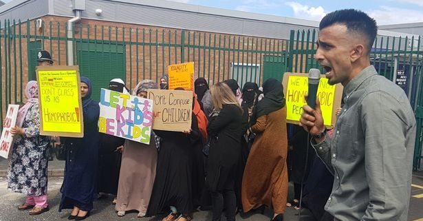 pic of LGBT Primary School Protest