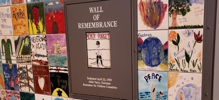 Wall of Remembrence: PEW- States Teaching Holocaust
