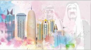 Shadow of Rulers Over Doha
