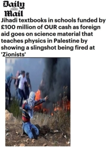 Daily Mail -Jihadi Textbooks funded by UK