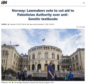 i24_Norway Defunding PA Textbooks_Screen